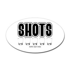 Shots Oval Decal