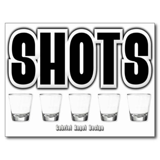 Shots Postcard
