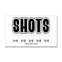 Shots Rectangle Decal