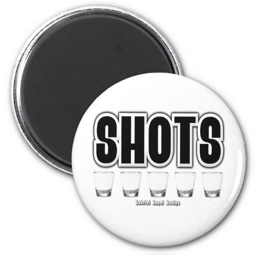 Shots Refrigerator Magnets