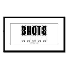 Shots Small Framed Print