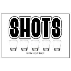 Shots Small Posters