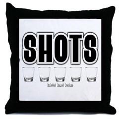 Shots Throw Pillow