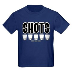 Shots Youth Dark T-Shirt by Hanes