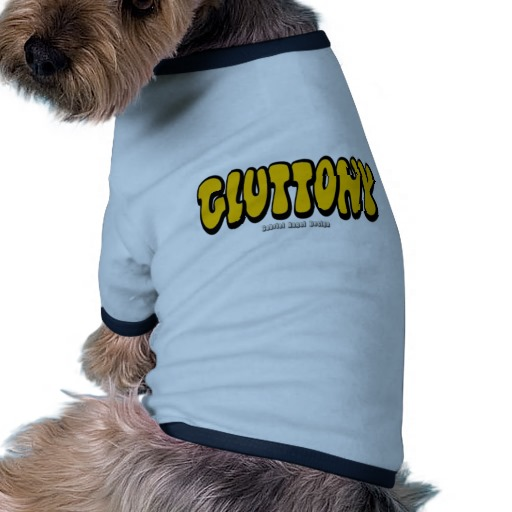 Gluttony (Thick) Doggie Ringer T-Shirt