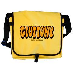 Gluttony (Thick) Messenger Bag