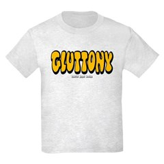 Gluttony (Thick) Youth T-Shirt by Hanes