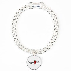 Pepper Life Bracelet with Round Charm