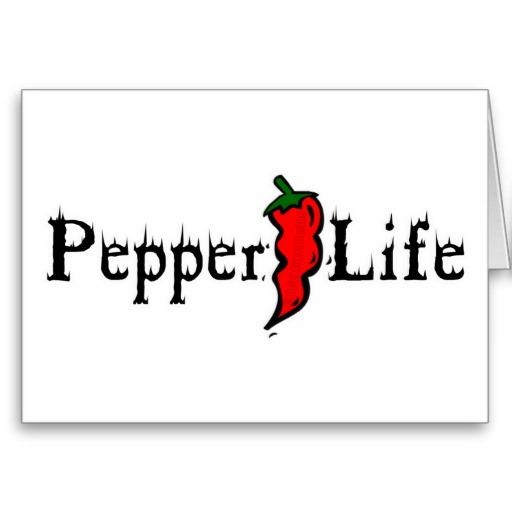 Pepper Life Greeting Card