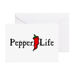 Pepper Life Greeting Cards (Pk of 20)