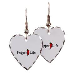 Pepper Life Heart Earrings