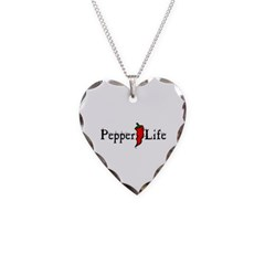 Pepper Life Necklace with Heart Pendant