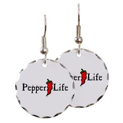Pepper Life Round Earrings