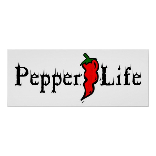 Pepper Life Posters