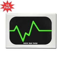 Envy Beat Rectangle Magnet (10 pack)