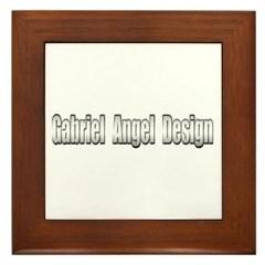 Gabriel Angel Design Framed Tile