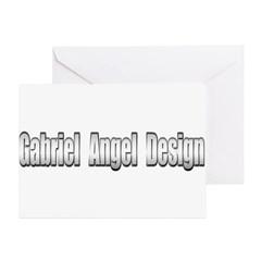 Gabriel Angel Design Greeting Card