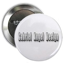 Gabriel Angel Design Metal Logo Button