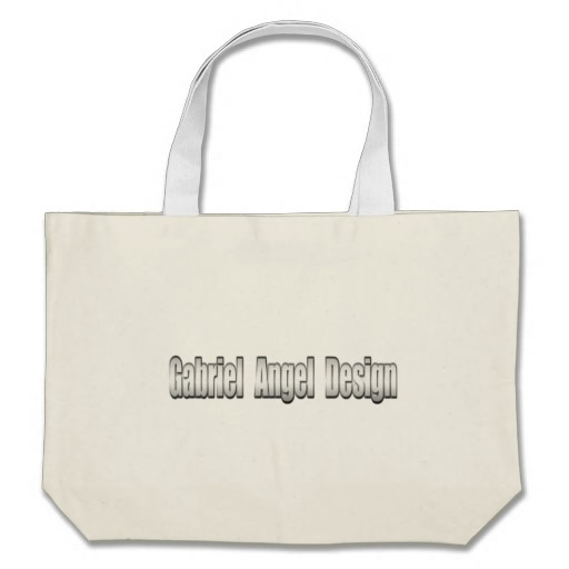 Gabriel Angel Design Metal Logo Jumbo Tote