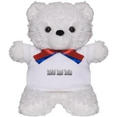Gabriel Angel Design Metal Logo Teddy Bear