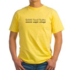 Gabriel Angel Design Metal Logo Yellow T-Shirt