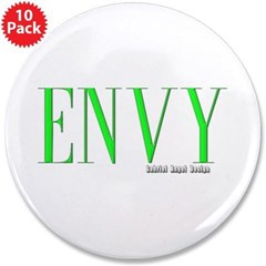 "Envy Logo 3.5"" Button (10 pack)"