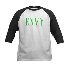 Envy Logo Kids Baseball Jersey T-Shirt