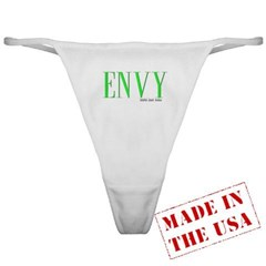 Envy Logo Ladies Thong Underwear