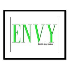 Envy Logo Large Framed Print