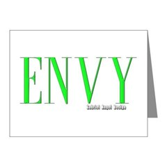 Envy Logo Note Cards (Pk of 10)
