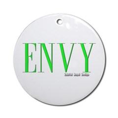 Envy Logo Ornament (Round)