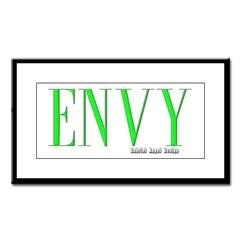Envy Logo Small Framed Print