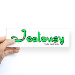 Jealousy Logo Bumper Sticker