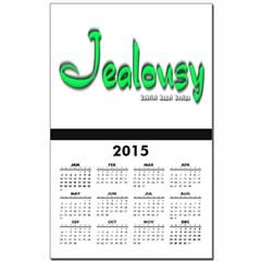 Jealousy Logo Calendar Print