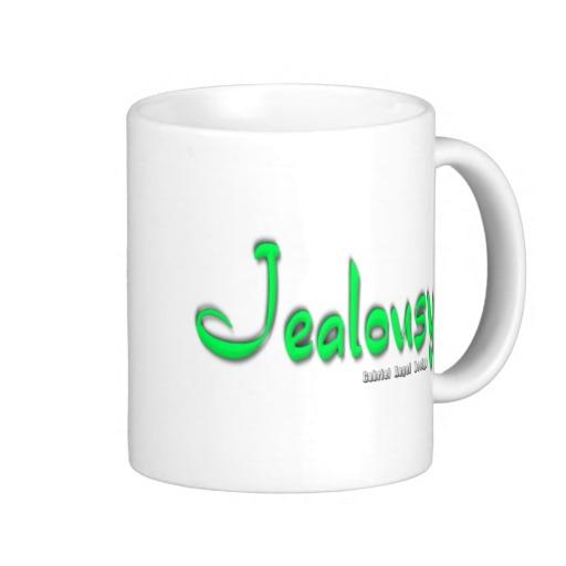 Jealousy Logo Classic White Mug