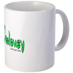Jealousy Logo Coffee Mug