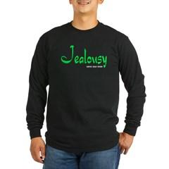 Jealousy Logo Long Sleeve Dark T-Shirt