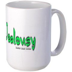 Jealousy Logo Mug