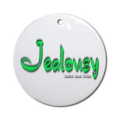 Jealousy Logo Ornament (Round)