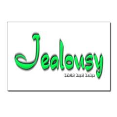 Jealousy Logo Postcards (Package of 8)
