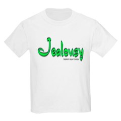 Jealousy Logo Youth T-Shirt by Hanes