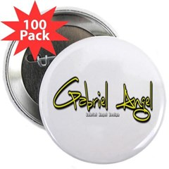 """Gabriel Angel 2.25"""" Button (100 pack)"""
