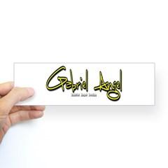 Gabriel Angel Bumper Sticker