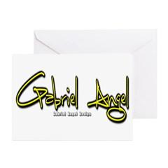 Gabriel Angel Greeting Cards (Pk of 10)