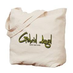 Gabriel Angel Logo Canvas Tote Bag