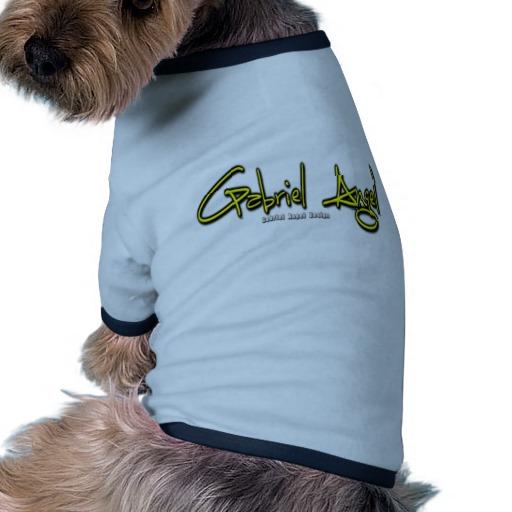 Gabriel Angel Logo Doggie Ringer T-Shirt