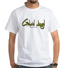 Gabriel Angel Logo White T-Shirt