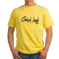 Gabriel Angel Logo Yellow T-Shirt