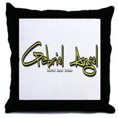 Gabriel Angel Throw Pillow