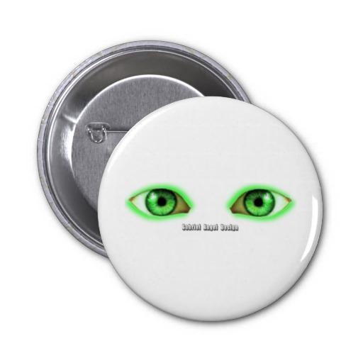 Envy Eyes Pinback Button